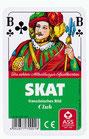 Skat - Französisches Bild (Kunststoffschachtel)