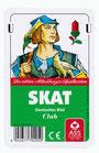 Skat - Deutsches Bild (Kunststoffschachtel) Kornblume
