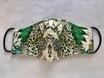 Mundschutzmaske 'Leophorse Green'