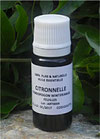 Citronnelle (cymbopogon winterianus) 100% pure chémotypée 10ml