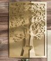 """""""Hochzeitsbaum"""" Hochzeitskarte #B0150"""