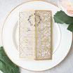Lasercut Hochzeitskarte #B0171