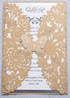 """""""Butterfly"""" Hochzeitskarte #C0073"""