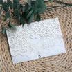 Lasercut Hochzeitskarte #B0180