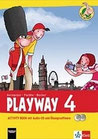 Playway 4, Activity Book mit Audio-CD und CD-ROM