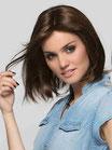 Perruque Yara - cheveux naturels mi-longs - Ellen Wille
