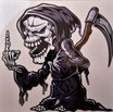 Aufkleber Reaper  (SO 103)