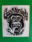 Gas Monkey schwarz/Weiß (GM7)