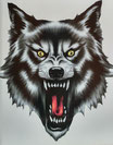 Böser Wolf (schwarz)
