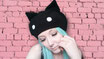 Kawaii Kitty Hat in Black