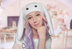 Kawaii Bunny Hat in White
