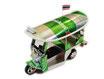 【ハンドメイド】 ミニチュア トゥクトゥク (TUKTUK)模型 / ハイネケン ビール 缶 Heineken Beer type 【タイ雑貨 アジアン インテリア アイテム Thailand Item】