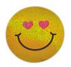 スマイリー ステッカー ラメタイプ(SMILEY sticker) 6cm×6cm type K 【タイ雑貨 Thailand Sticker】
