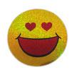 スマイリー ステッカー ラメタイプ(SMILEY sticker) 6cm×6cm type I 【タイ雑貨 Thailand Sticker】