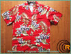 "Original Hawaiihemd ""Hibiscus Red """