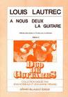 A nous deux la guitare - Louis Lautrec