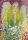 """Karte ______ DIN A6 Kunstdruck  """"Engel der Gnade"""""""