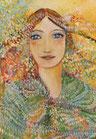 """Karte______  DIN A6 Kunstdruck """"Engel der Vielfalt"""""""