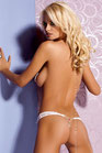 Obsessive>>Armena perizoma bianco  ob5255