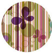 FARFALLE grün - violett