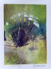 Risvegli, 2016, tecnica mista, 9,5 x 12,5 cm