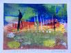 Plain and distant vision, 2016, tecnica mista, 17,5 x 13,5 cm
