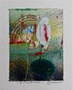 Enchantement, 2015, tecnica mista, 9 x 11 cm