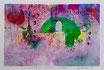Avvolto e lontano incanto, 2015, tecnica mista, 20,5 x 14 cm