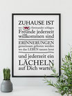 """Druck """"Zuhause"""""""
