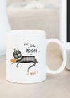 """Kaffeetasse """"Der frühe Vogel...upps!"""""""