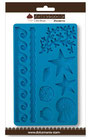 Calco in silicone decoro mare qdc118
