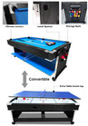 7FT 3-IN-1 Convertible Air Hockey Pool Table / Ping Pong Top Free Accessories