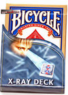 jeu Bicycle X-Ray Dos Bleu