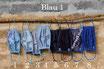 Mund-Nasenmaske - Blau 1 -