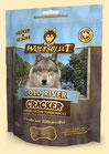 Wolfsblut Cold River Cracker für Hunde mit Forelle - 225 g
