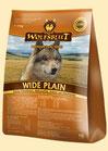Wolfsblut Wide Plain Trockenfutter für Hunde mit Pferdefleisch und Süßkartoffeln 15 kg