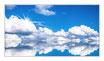 """Infrarot-Glasbildheizung """"Wolkenlandschaft"""" 600 Watt, 110x60cm"""