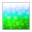 "Infrarot-Glasbildheizung ""Natur"" 300 Watt, 60x60cm"
