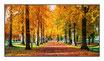 "Infrarot-Glasbildheizung ""Herbst"", 600 Watt, 110x60cm"