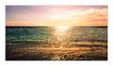"""Infrarot-Glasbildheizung """"Sonne im Meer"""", 700 Watt, 110x60cm"""