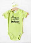 """Baby Body """"Kleiner Entdecker"""" grün"""