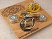 ST 2x Cap Tone-Split Vintage Prewired Kit STRATOCASTER