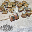 "0.1 uF ""Phonebook"" Vintage Repro Capacitor ZNW1P1 0.1MFD"
