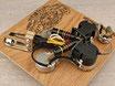SG Coil Split Prewired Harness mit Bumblebee Caps