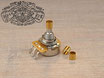 Brass Adapter Bushings for Potentiometer Split zu Solid Shaft