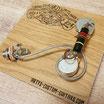 Les Paul Junior SOLDERLESS Prewired Kit with Bumblebee Cap