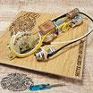 1953-65 Dark Circuit lötfrei vorverdrahtetes Vintage Kit Blackguard