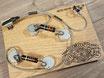 ES-335 / ES-330 50's Wiring Harness with Bumblebee Caps