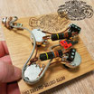 Solderless Les Paul Modern Wiring Harness with Bumble Bee Caps