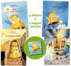 """Lot """"Aglaé"""" : les 4 tomes + 1 magnet offert"""